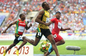 Usain Bolt, Mike Rodgers