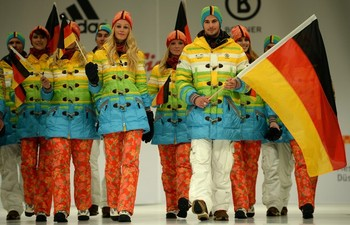 Germany Olympic uniforms