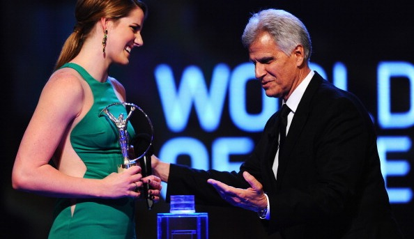 Missy Franklin, Mark Spitz
