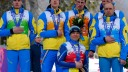 Ukraine Paralympics cross-country protest