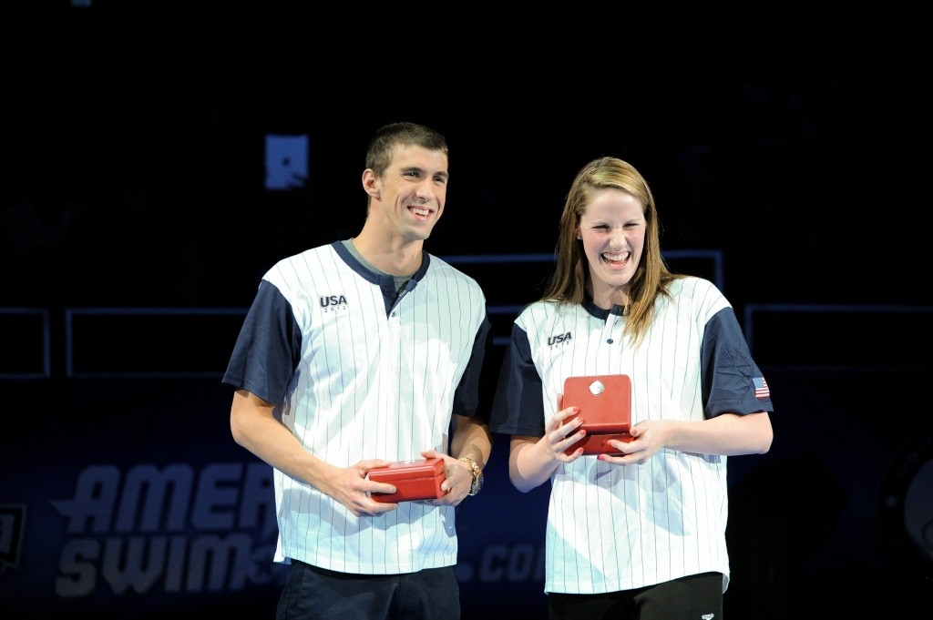 Michael Phelps, Missy Franklin