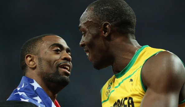 Usain Bolt, Tyson Gay