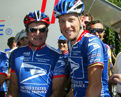 Lance Armstrong, Robin Williams