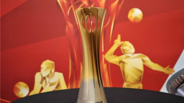 FIVB volleyball trophy