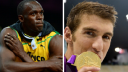 Usain Bolt, Michael Phelps