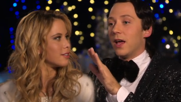 Tara Lipinski, Johnny Weir