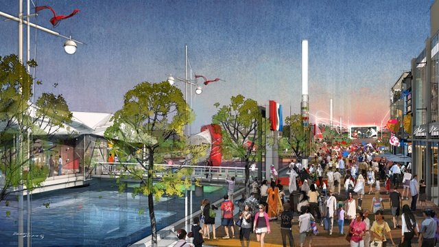 Boston 2024 Olympic rendering