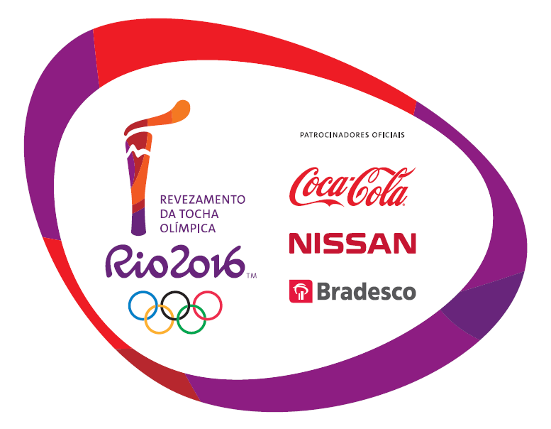 Rio Olympic torch relay logo