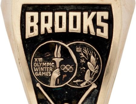 Herb Brooks Olympic auction