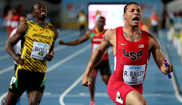 Ryan Bailey, Usain Bolt