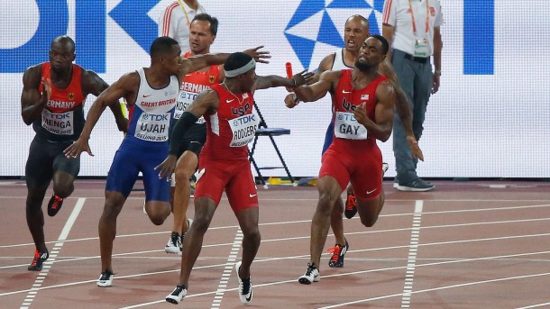 Tyson Gay, Mike Rodgers