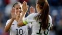 Carli Lloyd, Alex Morgan