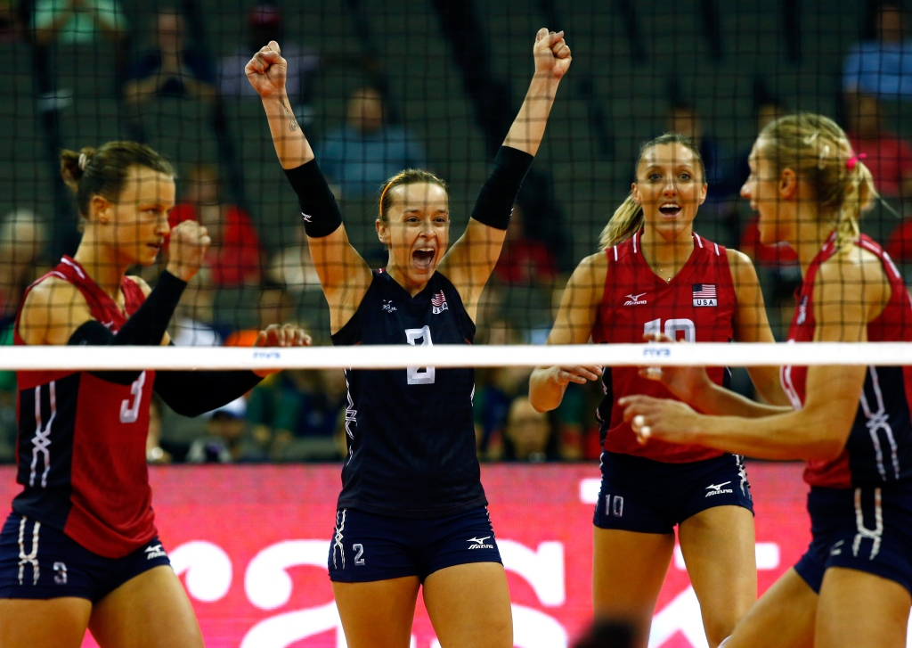 USA women's volleyball