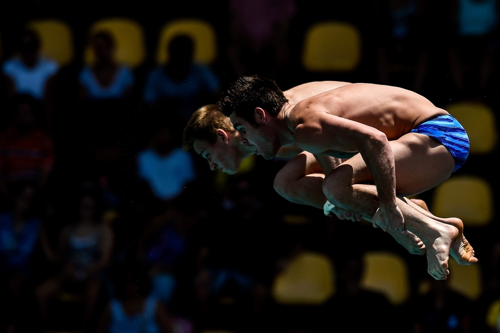 David Boudia, Steele Johnson