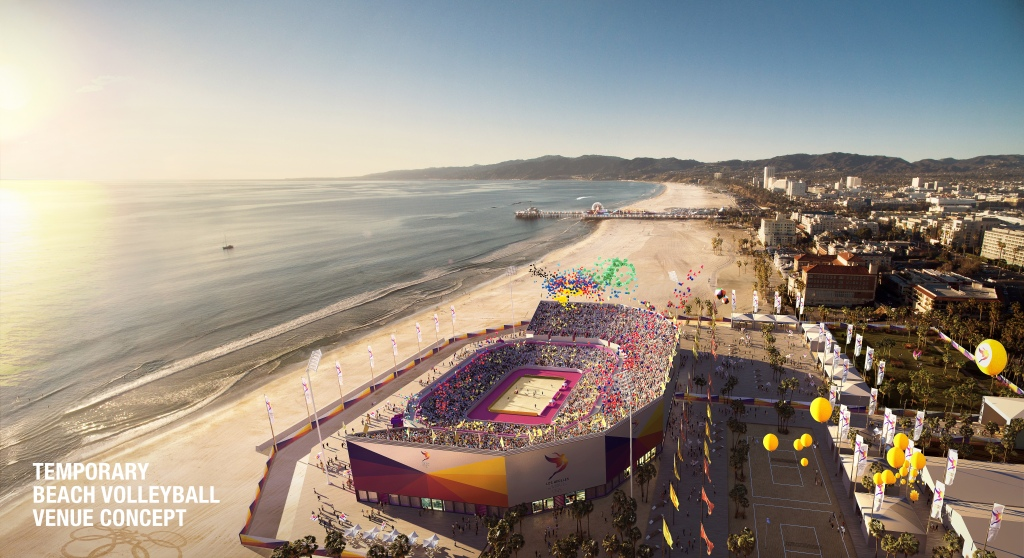 Los Angeles 2024 beach volleyball