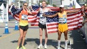 Ryan Hall, Meb Keflezighi, Jared Ward
