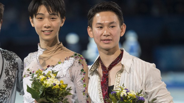 Yuzuru Hanyu, Denis Ten