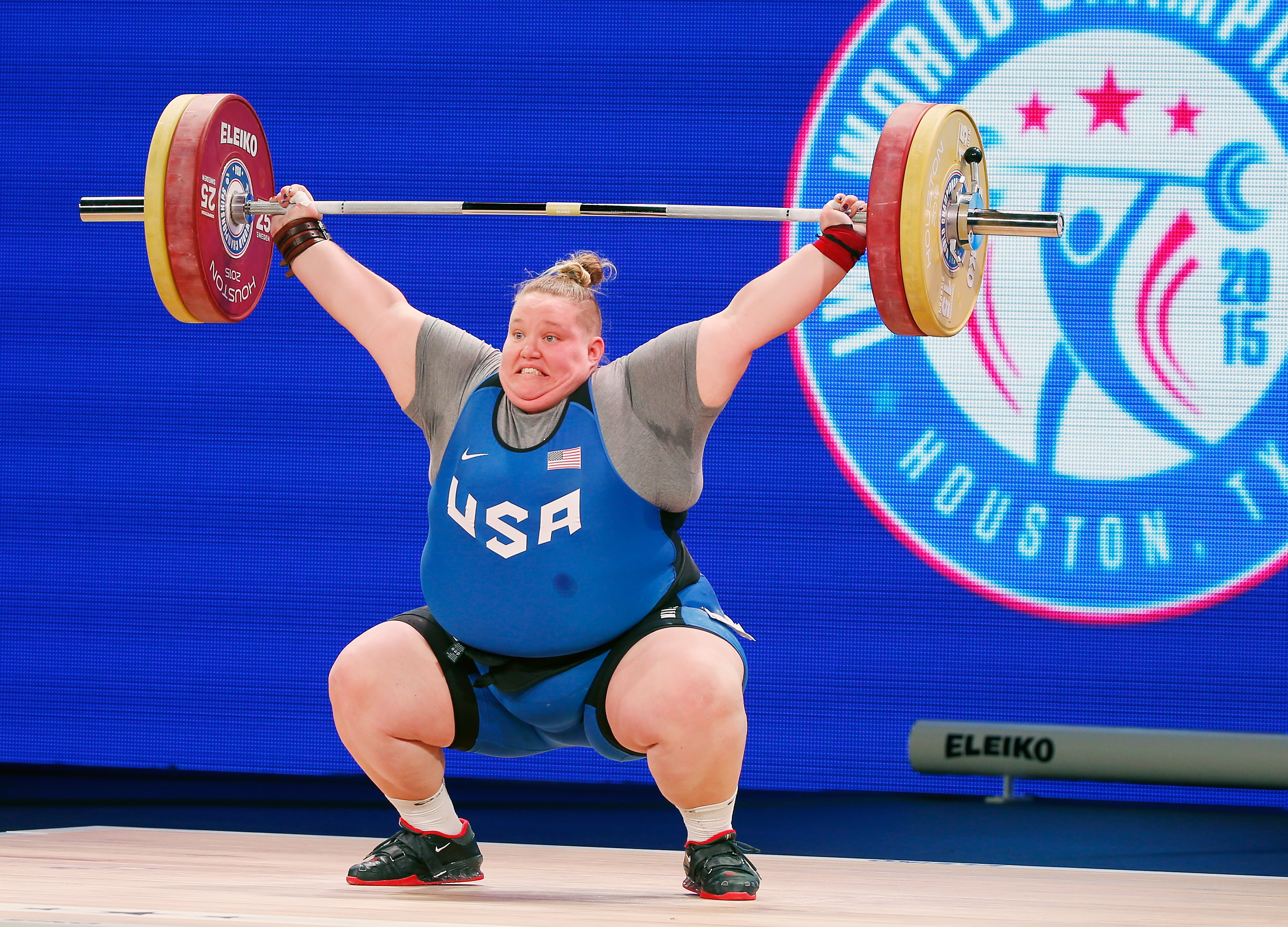 U S Olympic Women S Weightlifting Team Complete No Holley Mangold Olympictalk Nbc Sports