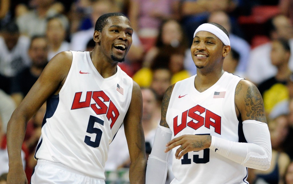 Carmelo Anthony, Kevin Durant