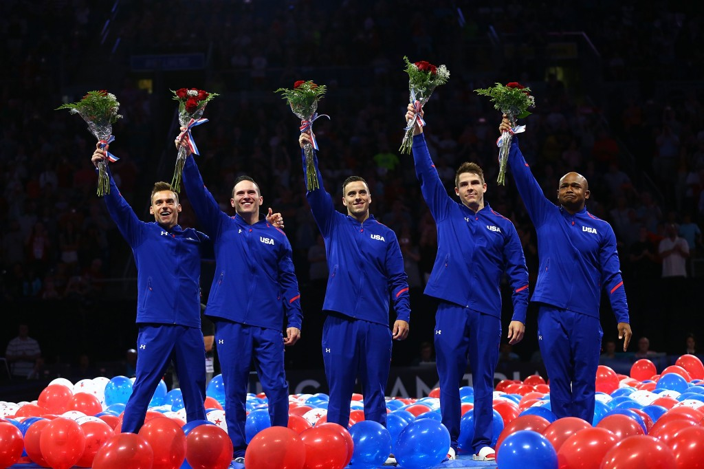 U.S. Olympic men's gymnastics team