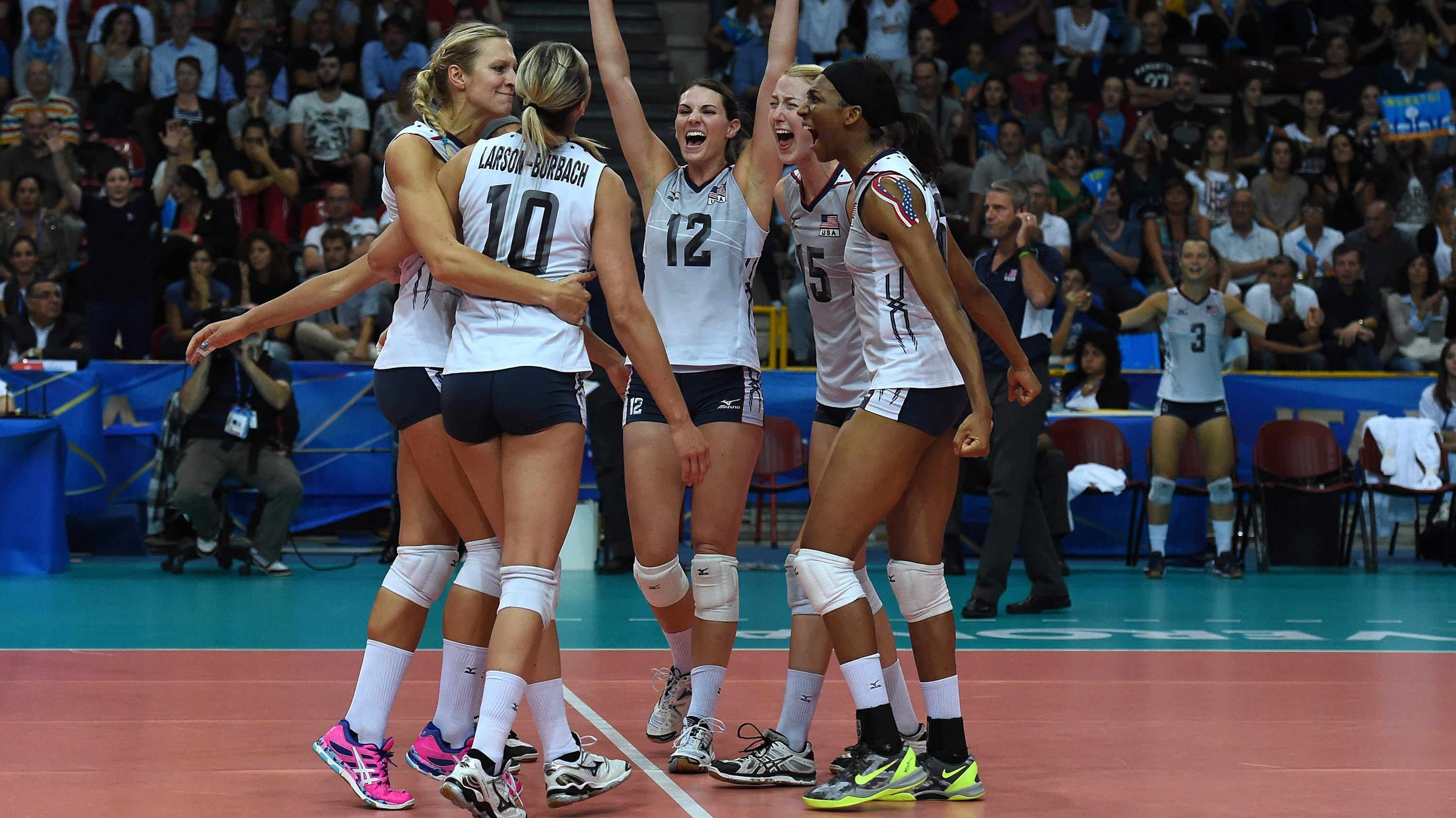 Olympic Roster Set For Top Ranked U S Women S Volleyball Team Olympictalk Nbc Sports
