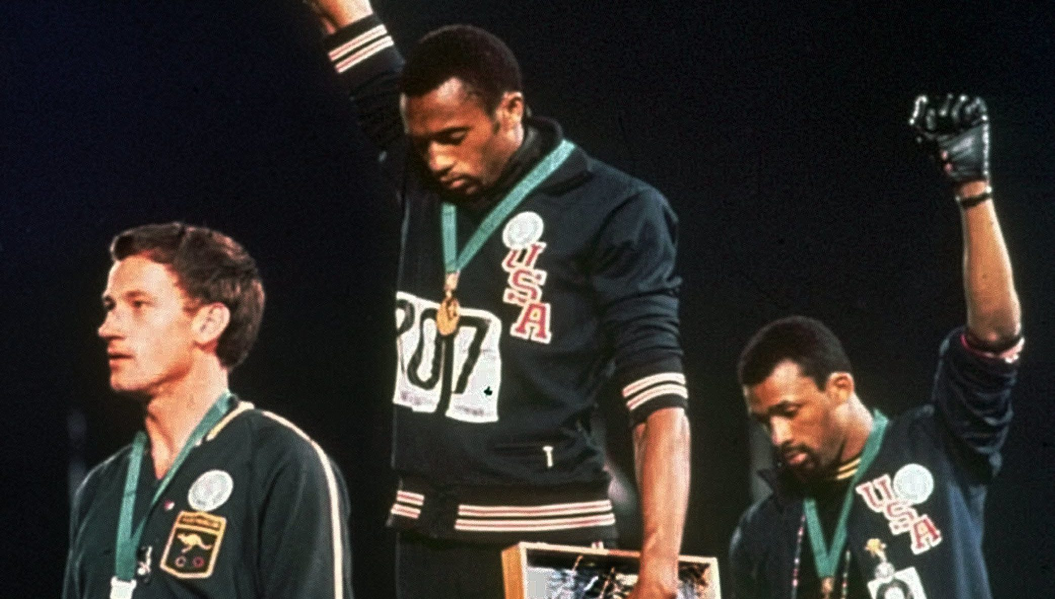 Watch '1968' and 'Bring the Fire: A Conversation with John Carlos' - OlympicTalk | NBC Sports