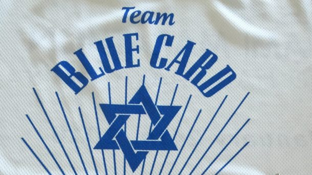 Team Blue Card