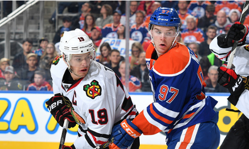 Jonathan Toews, Connor McDavid