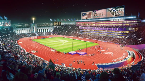 Los Angeles 2024 Olympic Stadium