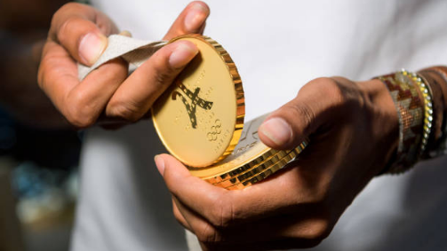 Paris 2024 Olympic medals