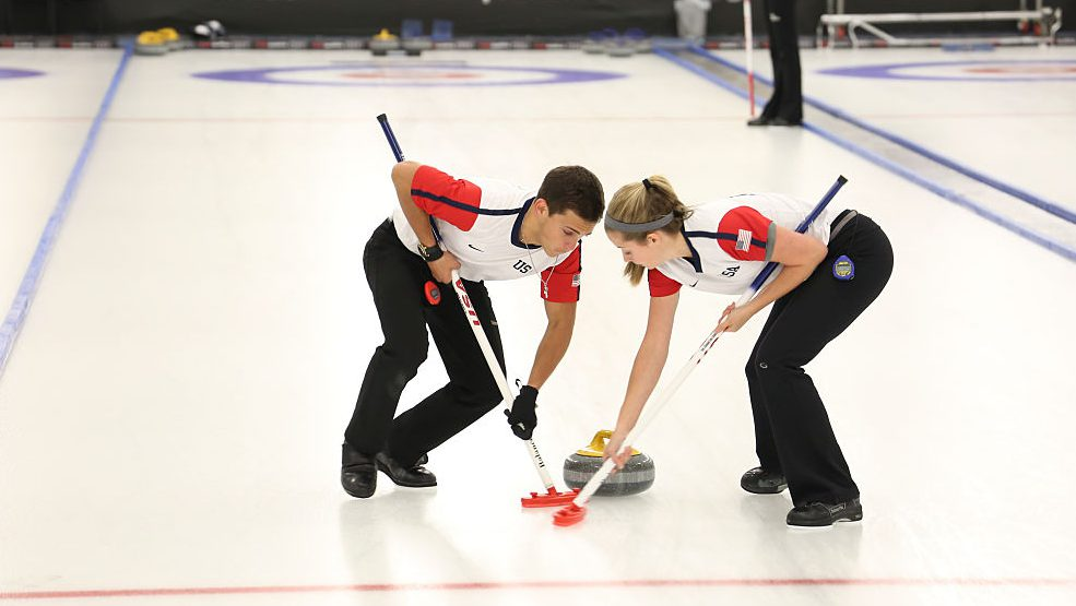 mixed doubles curling