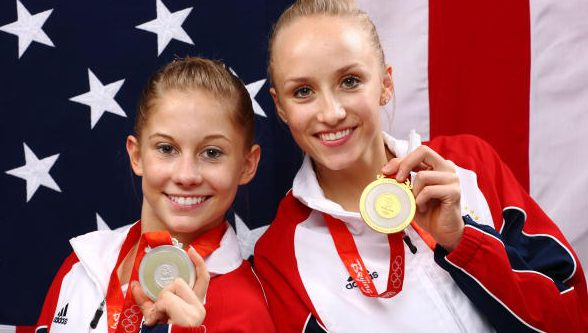 Nastia Liukin, Shawn Johnson