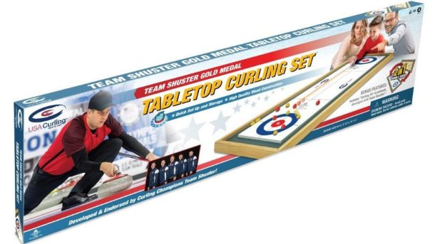Tabletop curling