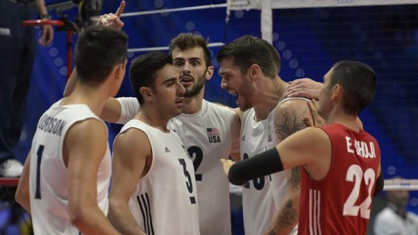 U.S. men's volleyball