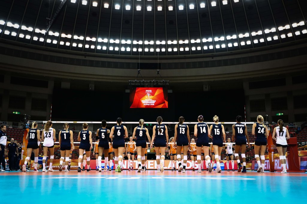 U.S. women's volleyball team