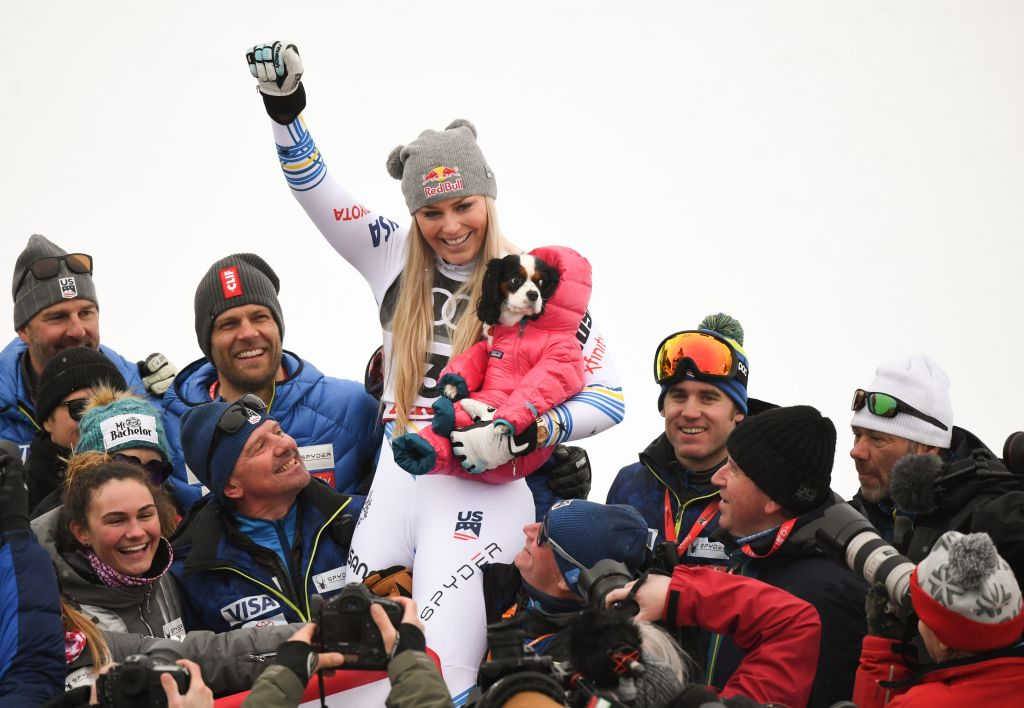 Vonn takes her final bow with world championship downhill bronze