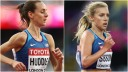 Molly Huddle, Emily Sison