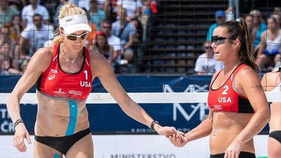 Kerri Walsh Jennings, Brooke Sweat