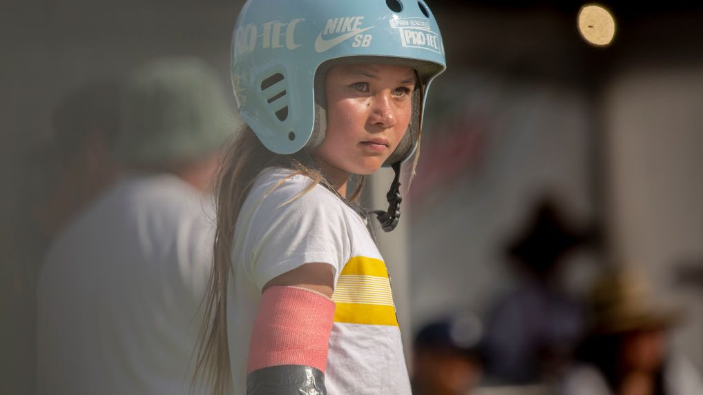 Sky Brown, 11-year-old Olympic skateboard hopeful, suffers serious fall