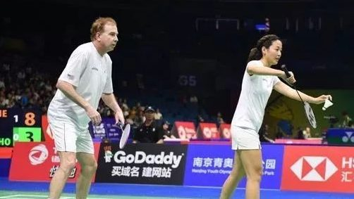 Why A 62 Year Old Played At The World Badminton Championships Olympictalk Nbc Sports