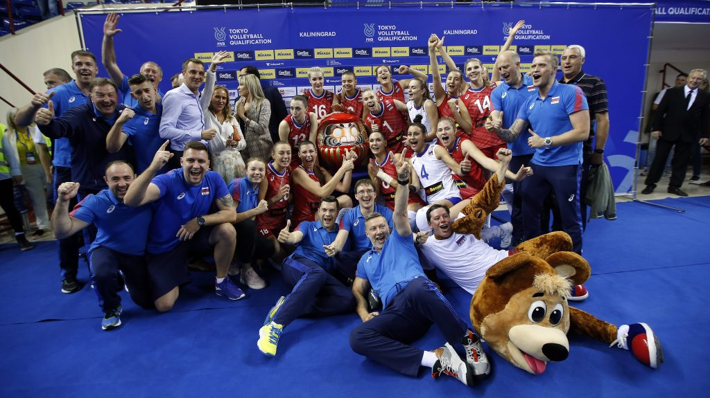 Russia women's volleyball team