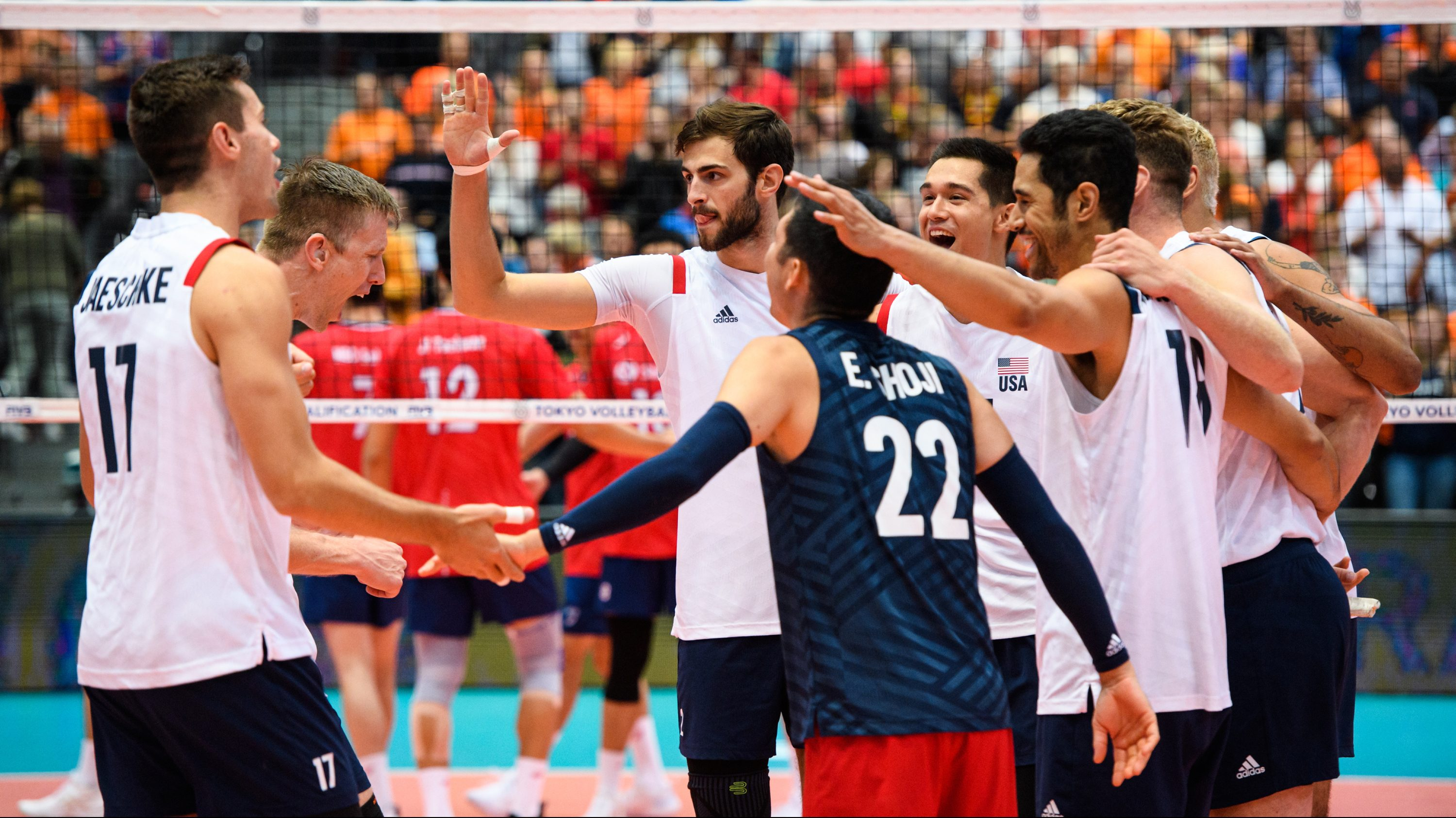 U S Men S Volleyball Team Qualifies For Tokyo Olympics Olympictalk Nbc Sports
