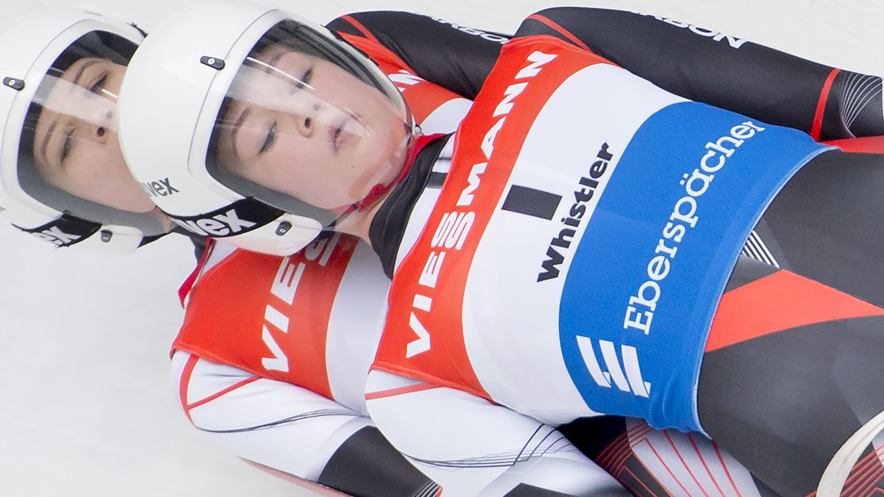 Canadians become first female doubles luge team in World Cup