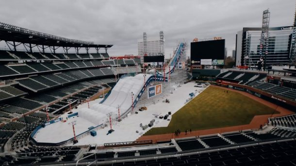 Atlanta Braves SunTrust Park Big Air