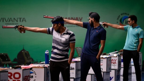 Commonwealth Games shooting