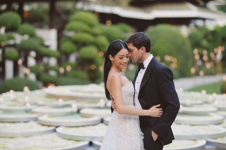 Evan Lysacek wedding photos