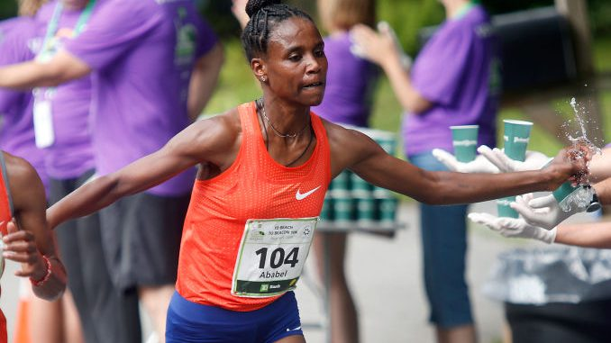Brigid Kosgei beaten as another world record smashed in Nike shoes