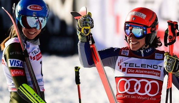 Shiffrin and Brignone