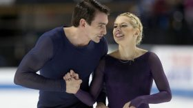 Chris Knierim and Alexa Scimeca Knierim