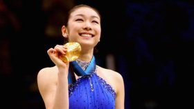 Yuna Kim at the 2010 Vancouver Olympics